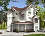 Dịch vụ Thiết kế kiến trúc nhà ở Biệt thự VIP