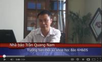 Video – Cảm nhận của nhà báo trưởng ban thời sự khoa học Báo Khoa học và Đời sống